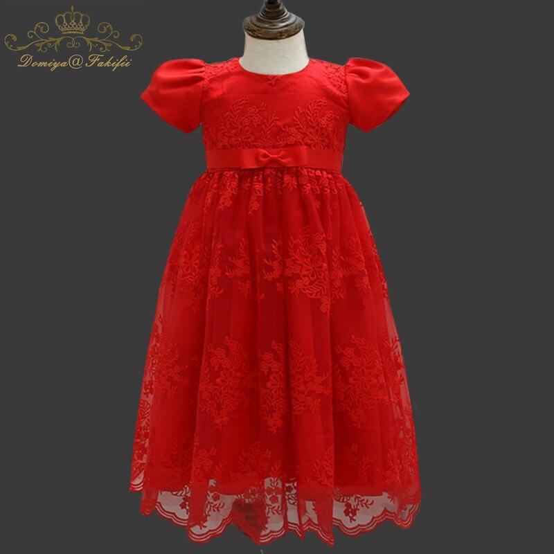 1 лет День рождения Платье для крещения для маленьких девочек Рождественская костюмы принцессы для новорожденных Vestido детский подарок на кр...