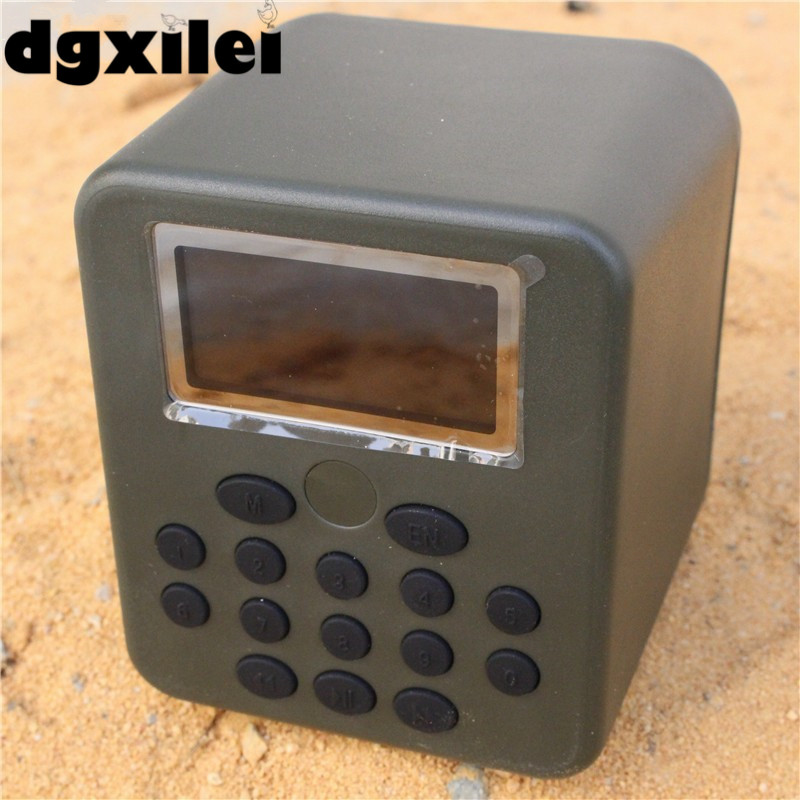 US $78 12 |Hunting Speaker 50W 150dB DC 12V Download Bird Voice Quail Bird  Sound Mp3 Downloads Hunting Bird Caller-in Hunting Decoy from Sports &