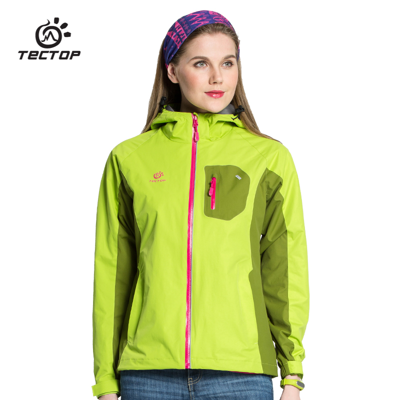 Dropshipping spring font b women b font Outdoor Waterproof font b Jacket b font Camping Hiking