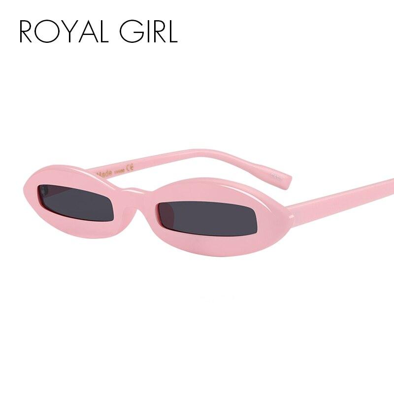 ROYAL FILLE Nouveau Unique lunettes de Soleil Femmes Classique Marque Designer Ovale Acétate Cadre Lunettes de Soleil Nuances ss608