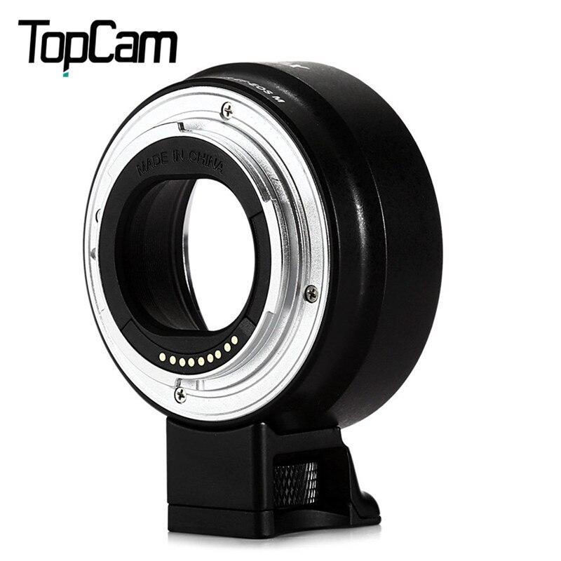 Prix pour Viltrox ef-eos m af auto focus monture adaptateur permet mise au point automatique et l'ouverture contrôle pour canon ef-m caméra à ef lentilles