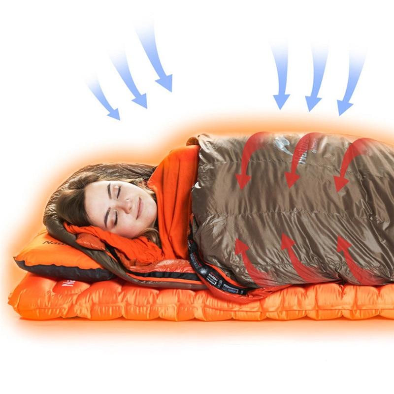 Naturehike Sleeping Bag Heating Portable Thermolite liner Single Travel Adult Hotel Across dirty Three Seasons Warming