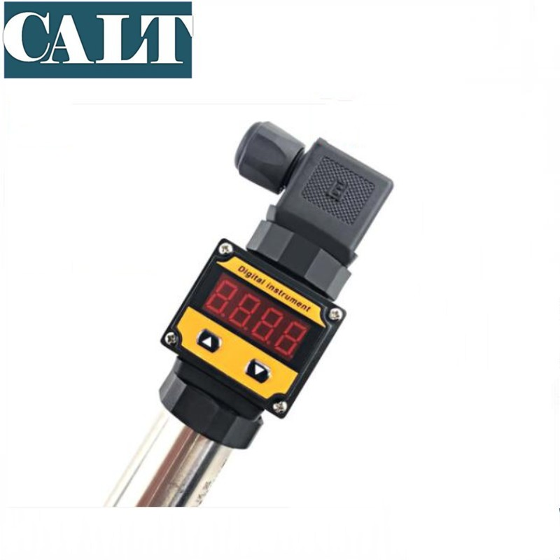 Water Gas Oil Pressure Sensor Diffused Silicon Pressure Transmitter 4-20mA Hydraulic Pressure to 100Kpa With LCD Display <font><b>WK</b></font>-131 image