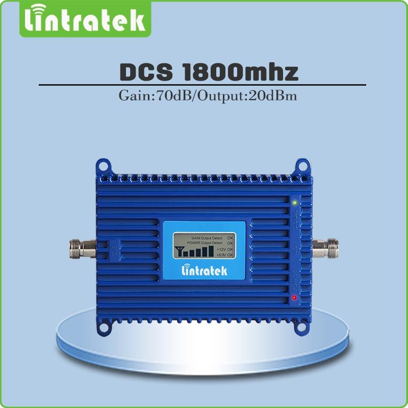 Verstärkung 70dB Signal Repeater 4G LTE DCS 1800 mhz Mobilen Verstärker (Band 3) DCS LTE 1800 mhz Handy Signal Booster mit lcd-display
