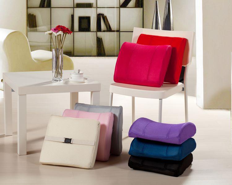 Lumbar Pillow Sofa Chair Cushions Memory Foam Seat Cushion Pillows Back  Cushion Gift For Boyfriend Car