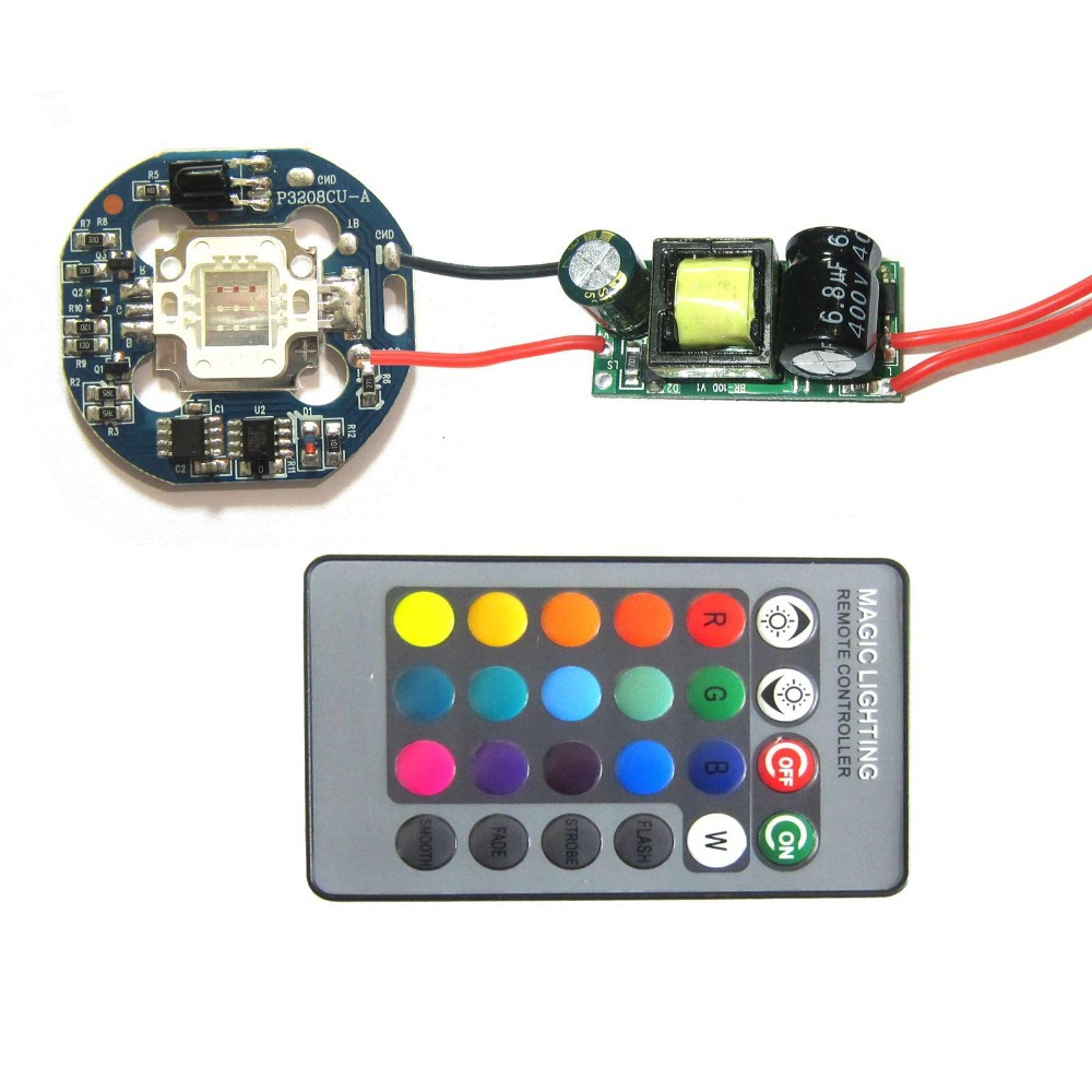 4 in 1 10w rgb smd led light lamp dimmable ir controller board10w Led Driver Circuit 10w Dimmer Led Driver Buy 10w Led Driverled #11