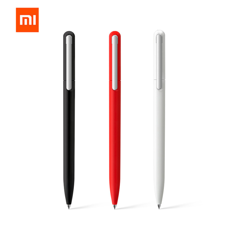 3Pcs Original Xiaomi Mijia Pinluo 0.5mm Gel Pen Signing Pen Smooth Refill For Office School Supplies