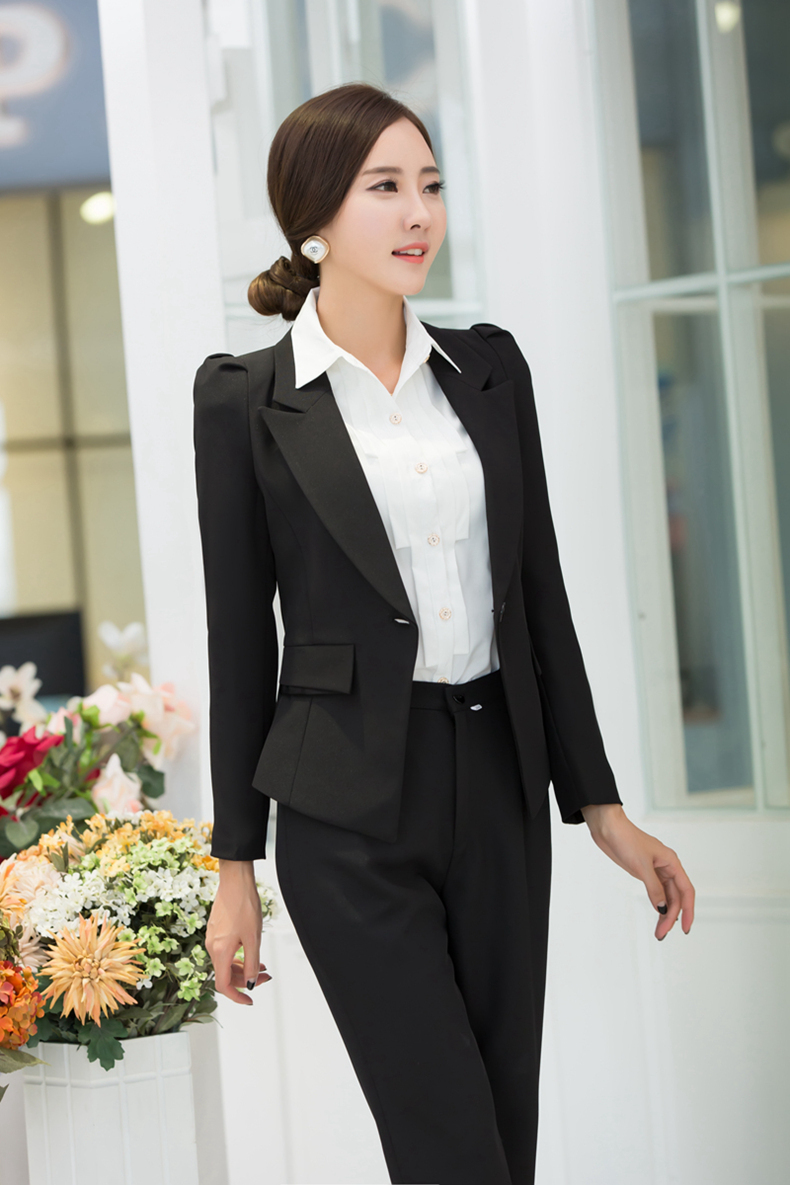 Online Shop Hot Sell Autumn Winter Long sleeve Pant Suits for ...