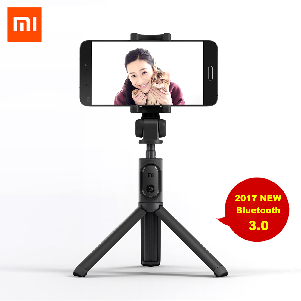 Original Xiaomi Selfie Stick Foldable Tripod Bluetooth Selfiestick With Wireless Shutter Selfie Stick For iPhone Android Xiaomi