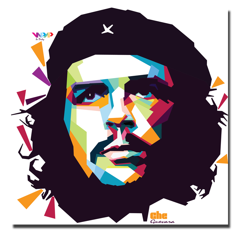 Large size Printing Oil Painting che guevara Wall painting Home Decorative Wall Art Picture For Living Room painting No Frame