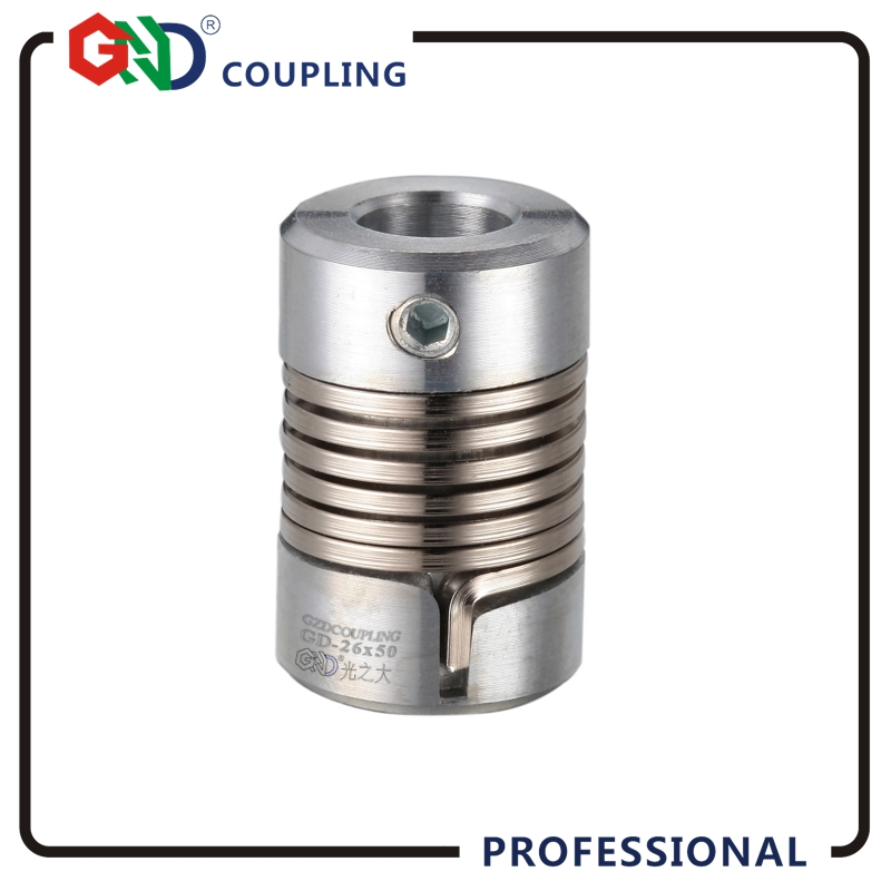 Flexible shaft coupler GND Zinc alloy encoder D16 L27 spring clamp for 3D Print Coupling applicable to micro-motor, CNC not jaw свитшот print bar spring to life