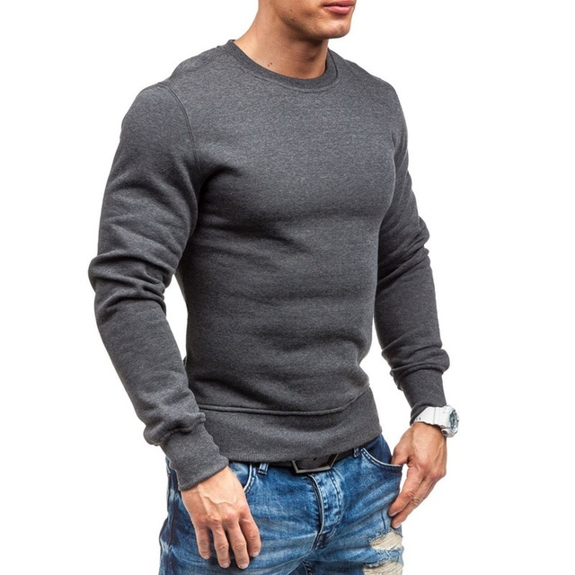Zogaa 2018 Autumn Casual Men's Sweater O Neck Striped Slim Fit Knittwear Mens Sweaters Pullovers Pullover Men Pull Homme M 2 Xl by Zogaa