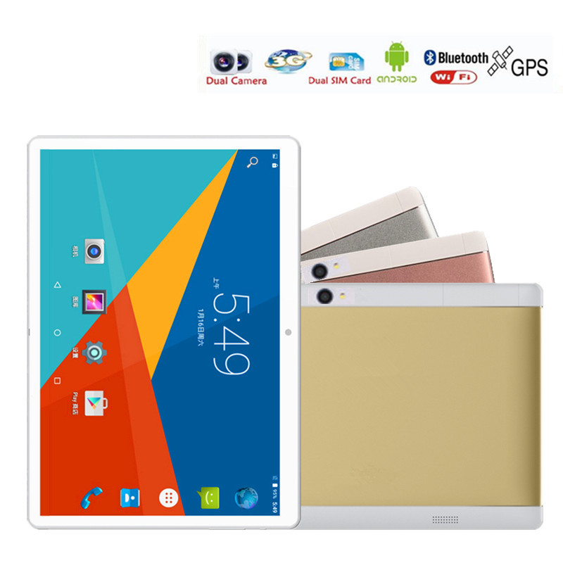 New version 10 inch Tablet pcs Android 6 0 IPS 1920x1200 Quad Core 2GB RAM 16GB
