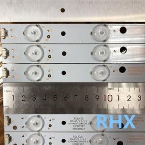 Image 5 - 10 Miếng Dán Đèn Nền LED Cho Hải ER LE48F3000W Thanh Nhẹ LED48D7 ZC14 01 LED48D8 ZC14 01
