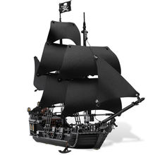 LEPIN 16006 Pirates Of The Caribbean The Black Pearl Building Blocks Kit Minifigures Bricks Toys Compatible with Legoe 4184 Gift