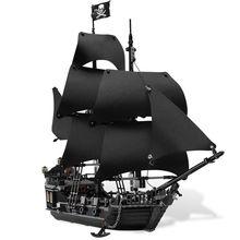 Lepin 16006 Pirates of the Caribbean The Black Pearl Model set Building Blocks Kits Funny Bricks