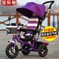 Multi - função bicicleta crianças triciclo 1 - 3 anos de idade do bebê carrinho de bebê bicicleta carrinho de bebê carrinho
