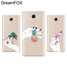 DREAMFOX M100 Fine Hand And Art Of Finger Soft TPU Silicone Case Cover For Xiaomi Redmi Note 3 4 4X 5 5A 6 7 Pro Global