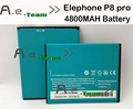 Elephone P8 Battery 100% NEW 4800Mah Li-ion Battery Replacement For Elephone P8  Smart Mobile Cell Phone in stock
