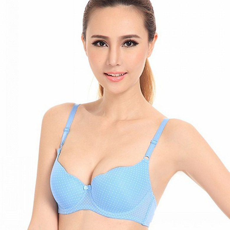 New 2014 Sexy Dot Bras Plus Size Cup Bcd Young Girl Push -6778