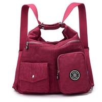 2017 Large Capacity Waterproof Nylon Backpack Mochila Escolar Female Backpack Designer High Quality Bolsas Sac A