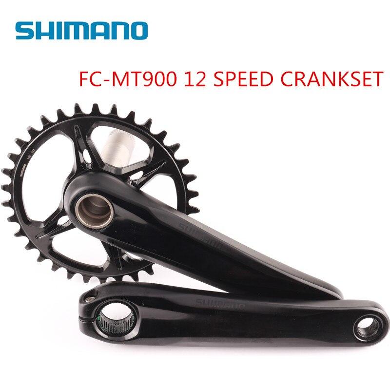 Shimano MT900 bike bicycle MTB 12 speed 170mm 175mm 34T crankset same as XTR M9100 Crank