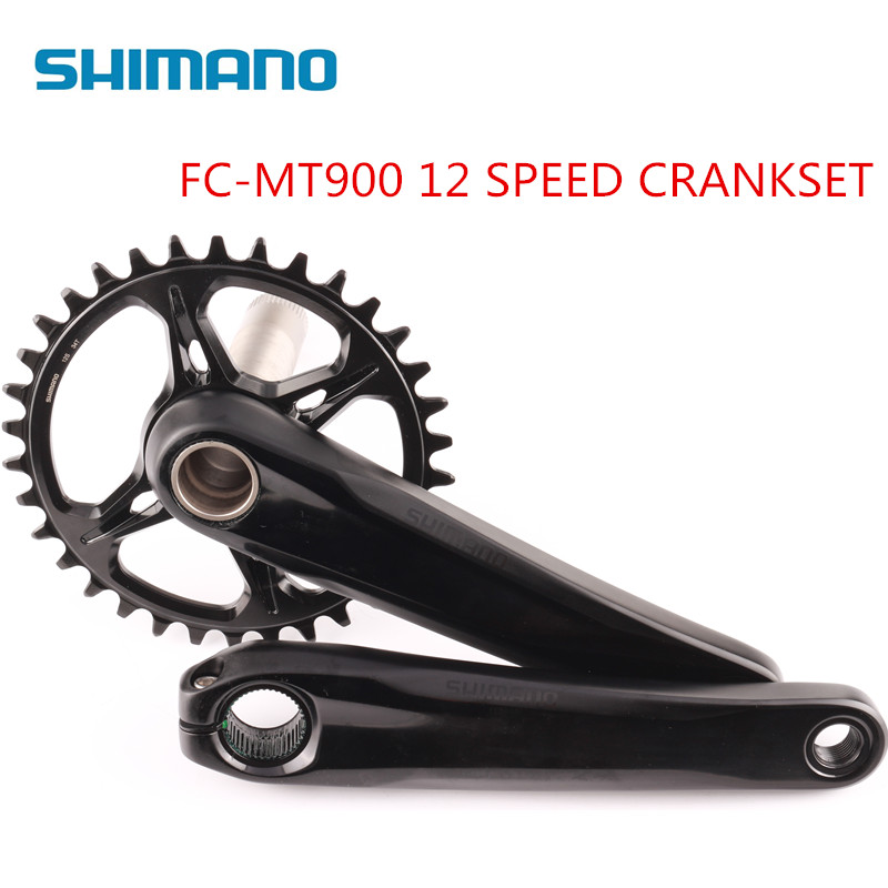 Shimano MT900 bike bicycle MTB 12 speed 170mm 175mm 34T crankset same as XTR M9100 Crank CranksetShimano MT900 bike bicycle MTB 12 speed 170mm 175mm 34T crankset same as XTR M9100 Crank Crankset