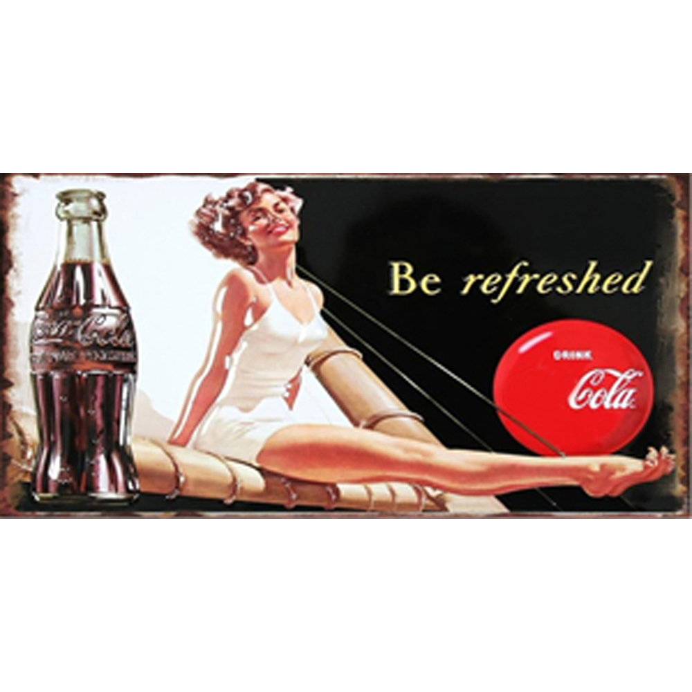 Girl Chic Home Bar Cafe Vintage Wall Decor Art Metal Tin Signs Pub Tavern Retro Decorative Plates Metal Poster in Plaques Signs from Home Garden