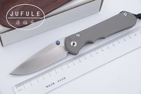 JUFULE New Large Sebenza 25 CPM S35vn TC4 titanium handle folding Tactical pocket camping hunting outdoor EDC tool kitchen knife