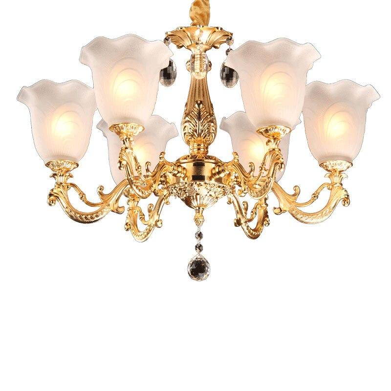 Moderne Or Lustre Éclairage pour Salon Chambre De Mariage Décoration Lustres Lampe Suspendue Suspension Moderne Éclairage