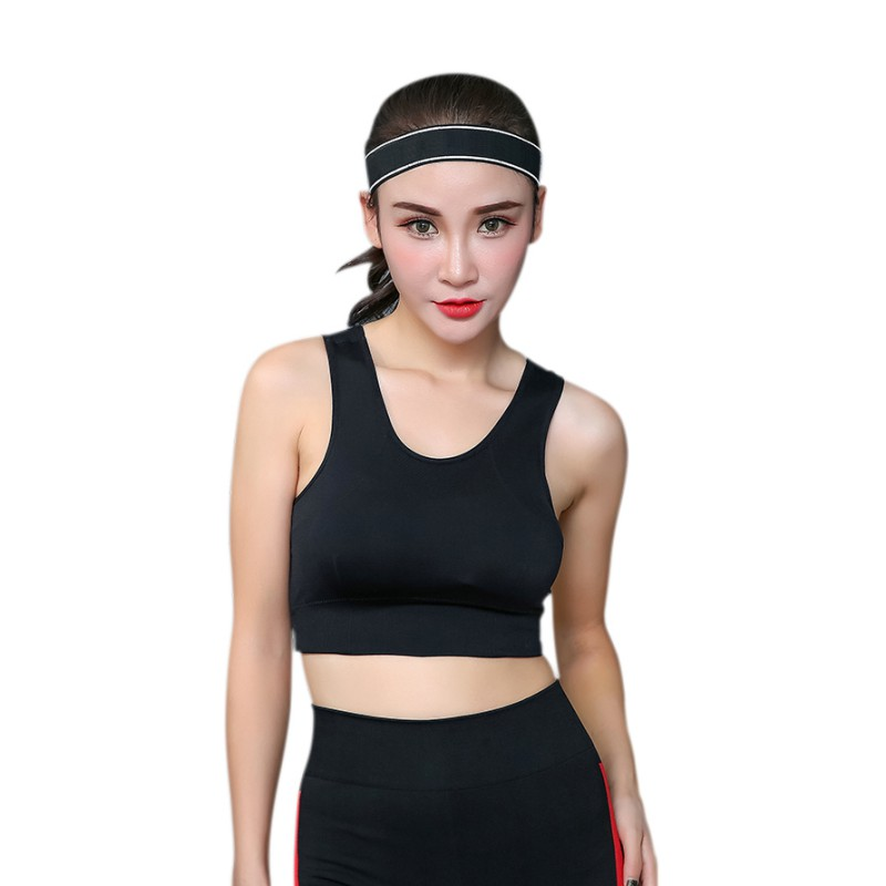 Women Yoga Running Vest Tops Padded Sports Fitness Gym Clothes Sport Tank Top Shirt Quick Dry Female Vest New Arrivals
