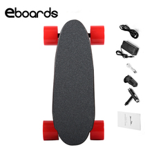 The Smallest Electric Skateboard With Remote Control E Skateboard Adult Scooter Kit Motorized Hub Smart Skate Board One Motor