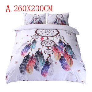 Image 2 - Floral Bunte Dreamcatcher Bettwäsche Set Hipster Böhmischen Stil Bett Kleidung massage tisch coverfitted bettwäsche könig größe