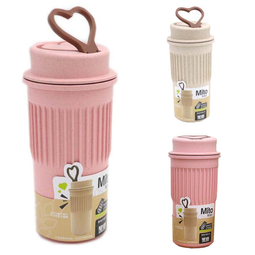 Cute Reusable Travel Bottle To Go Coffee Cup Bottle with ...