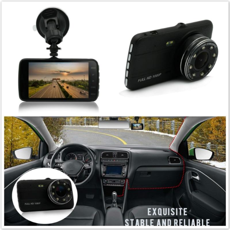 Car DVR 100% original auto camera 1080P 4 full hd dash cam dvrs video recorder registrator avtoregistrator registrar v81 novatek 96655 imx 322 full hd 1080p mini camera car dvrs registrator dash camera cam digital video recorder camcorder