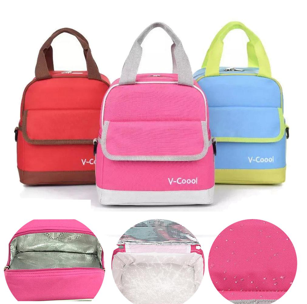 V-COOOL Stylish Mother Backpack Diaper Bags Tote Insulated Baby Bottle Bag Thermos Milk Warmer Storage Nursing Mam DBO
