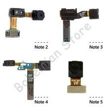 купить For Samsung Galaxy Note 2 3 4 5 N9005 N910c N910f N920F N920C Front Camera Ribbon Flex Cable дешево