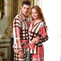 2016 Pijama de Inverno Espessamento Coral Fleece Roupão para As Mulheres Pijamas Pijamas Pijamas Homewear Conjuntos de Pijama dos homens