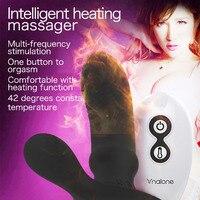 Poręczny Ogrzewania Zdalnego Sterowania Majteczek Bezprzewodowy Wibrator G spot Wibrator Stymulator Płeć Zabawka dla Kobiet Masażer Prostaty dla Człowieka