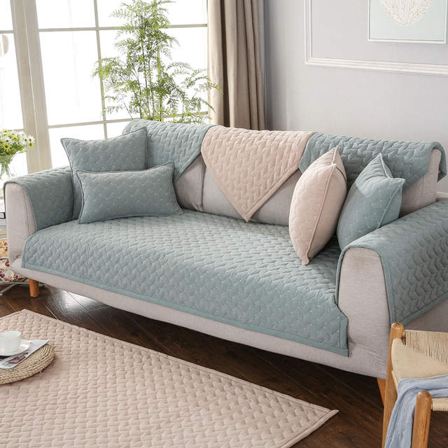 High Quality Washed Cotton Sofa Cover