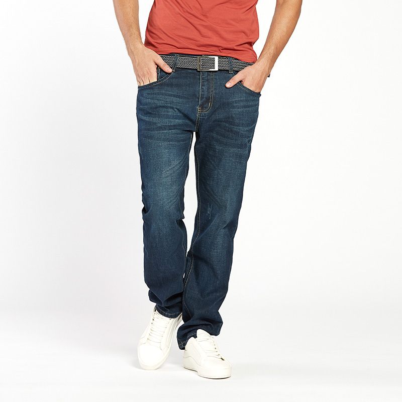 Drizzte Men Jeans Plus Ölçü 28-dən 46-dək Trendy Stretch Stretch - Kişi geyimi - Fotoqrafiya 6