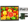 9.7 Inch 2048*1536 2K Retina Monitor Hdmi Driver Board LCD Module Screen DIY Kit Set for Raspberry Pi 3 Auto Car Display Windows