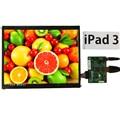 9.7 Polegada 2048*1536 2 K Retina Hdmi Monitor de Bordo Motorista LCD Módulo tela Conjunto Kit DIY para Raspberry Pi 3 Exposição Do Carro Auto janelas