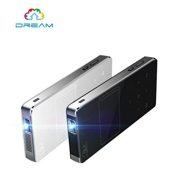 5 unids U9 Mini Pocket Proyector DLP Apoyo HD 1080 P 1/8G 2800lumens 2000:1 PARA Sistema Android 4.4.2 CON Built-In 3000 MAh batería