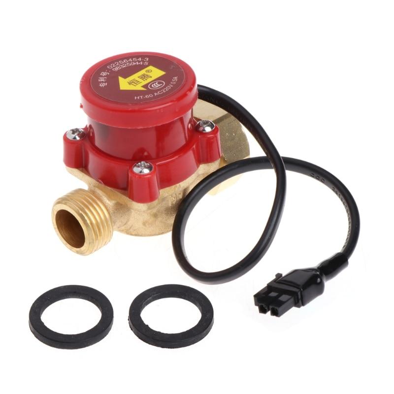 220 V 60-90 Watt Männlichen Gewinde G1/2 Stecker Umwälzpumpe Wasser Flow Sensor Schalter Auf Der Ganzen Welt Verteilt Werden Messung Und Analyse Instrumente