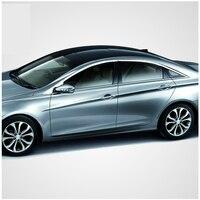 Free Shipping 304 Stainless Steel Car Window Chrome Trim For Hyundai Sonata I45 2009 2010 2011