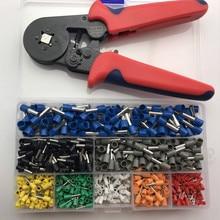 طيات عقص قابلة للضبط ذاتيًا LTZFTL + أطراف العقص مجموعات كماشة أنبوب كابل الأسلاك أدوات يدوية متعددة