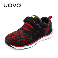 UOVO Date Enfants Shoes Respirant Printemps Automne Shoes pour Garçons Filles Semelle légère Enfants Shoes Flexible Shoes Pour enfants
