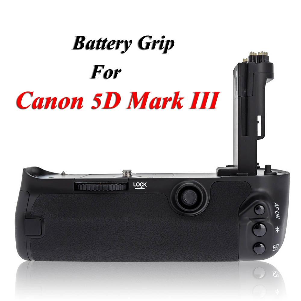 MK-5D3 Vertical Battery Grip Multi-Power Battery Pack Holder for Canon 5D Mark III 5D3 5DIII DSLR Camera as BG-E11 BGE11