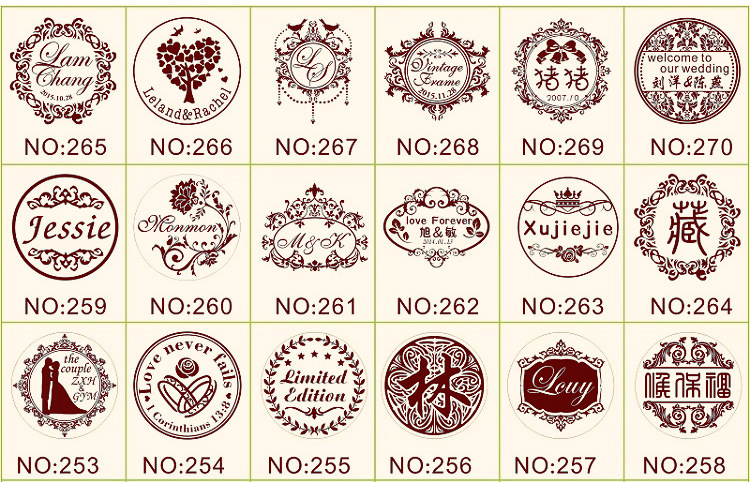 Clearance SaleEmbossing Stamp Letterhead Customized Personal-Logo Wedding Gaufrage HQ